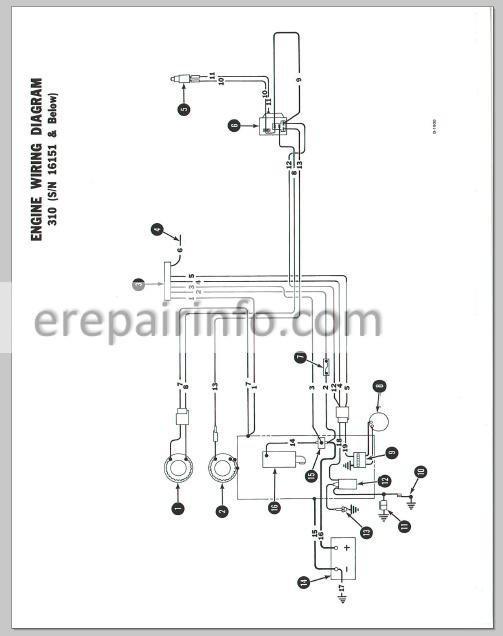 bobcat 743b wiring diagram engine wiring diagram images. Black Bedroom Furniture Sets. Home Design Ideas