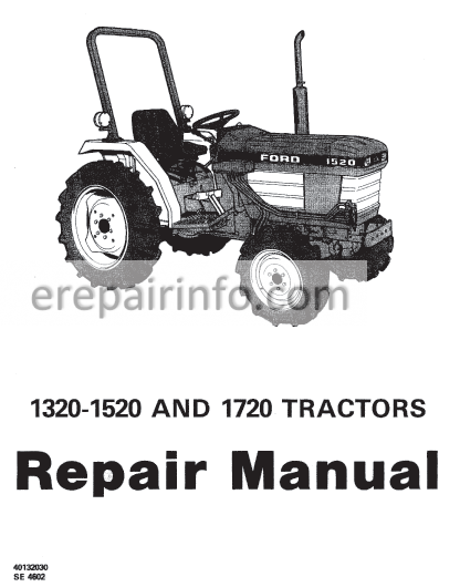 Ford 1715 Tractor Wiring Diagram