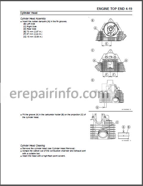 Kawasaki PRAIRIE 360 KVF360 Service Manual ATV – eRepairInfo.comeRepairInfo.com
